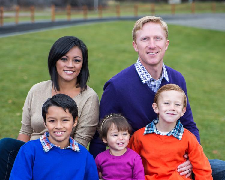 Johnson Family 2012