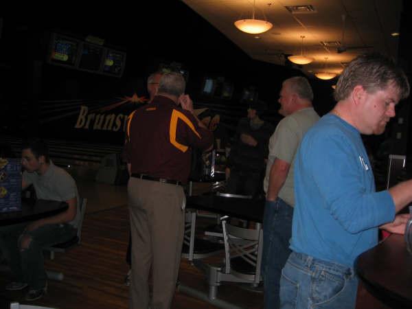 Johnson Family Bowling, January 2009