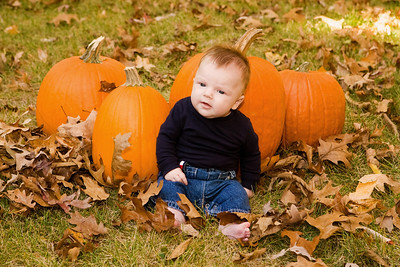 She IS a little pumpkin!