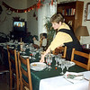 Christmas 1995 at the Bozzolini House, Chaumont, France