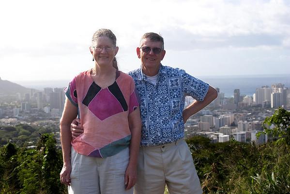 Carolyn and Mike in Honolulu January 2007