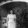Aunt Ruthie (Ruth Hacker Johnson) Picture was taken April 1951 at the McChesney house in Los Angeles