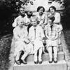 Top Row: Will, Betty Jane, Jane,Myrtle.  Bottom row: Aunt Hilma, Mathilda Johnson, Alice Johnson.
