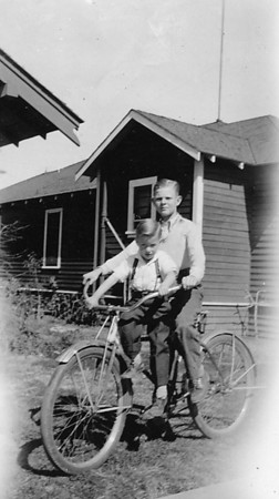 Glen Johnson and David Hauser ~1936