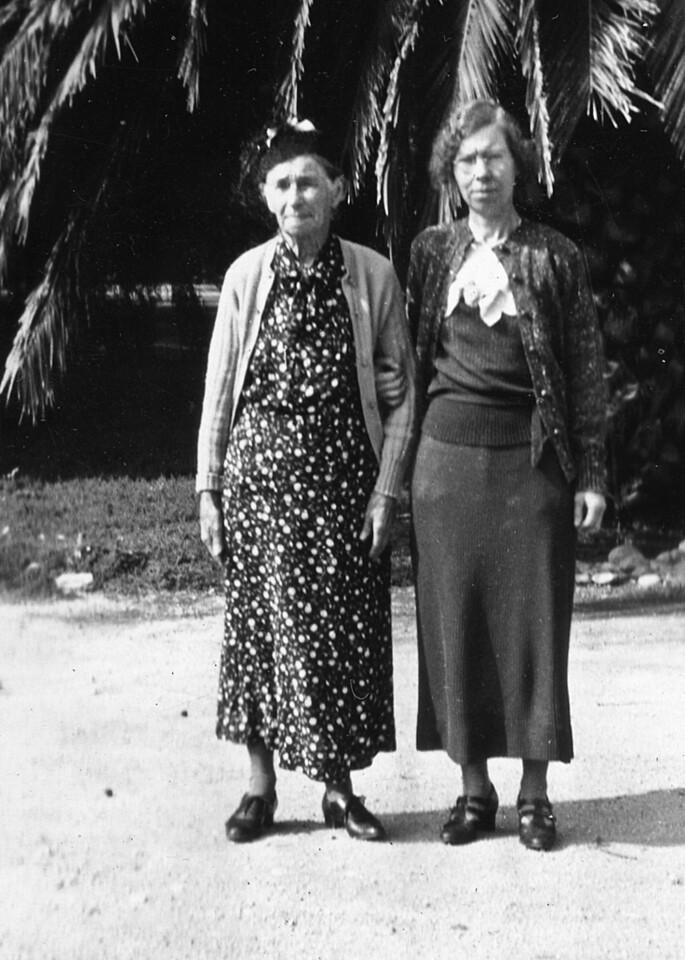 Mathilda and Alice Johnson