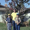 Michael McChensey with sons Matt and Chris.