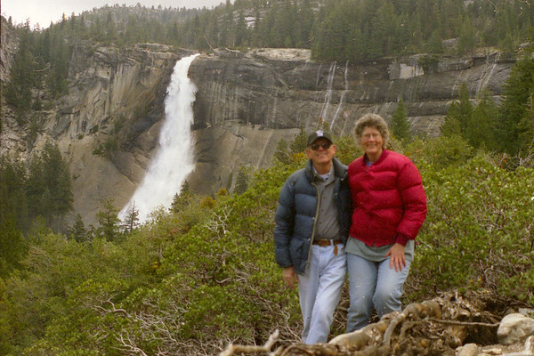 Carolyn Nelson and Michael McChesney, Yosemite April, 2002