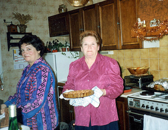 In the Kitchen, Chaumont, France, Christmas 1995