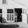 Arthur Johnson at 919 Link Lane Santa Rosa ~1945.  The cigar:  he had three a day plus pipe and cigarettes!