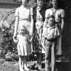 Ruth and Martha McChesney, Grandma Johnson, Eleanor and David Hauser.