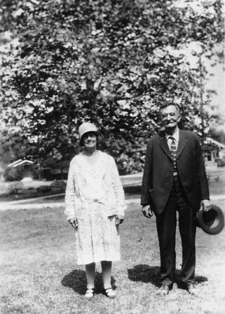Grandma and Grandpa Cole ~1930