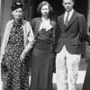 Mathilda and Alice Johnson with Neil (Wayne Neil Johnson), Uncle Sonny.  The person that you do not see, is Grandma Cole.  Someplace, there is a picture with all of them in it.