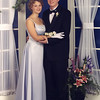 Matthew M. McChesney and his date, Lea at the May 2000 high school prom.