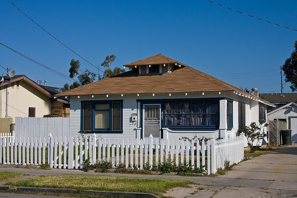 427 Wollf St, Oxnard, CA, today.  House where Homer, Ruth  and Martha McChesney lived during 1942 while he was a manager of a Safeway store. Mike joined the household in May of that year.  Six months later, the family would move to Los Angeles where Homer became Superintendent of the Western Region Produce Wearhouse for Safeway Stores