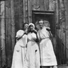 Willie, Burta and Clara Cole.  Date unknown