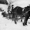 Arthur E. Johnson.  He made the sled.