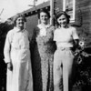 Grandma Cole, Florence Johnson, and Mardell Stansberry, Walter's wife