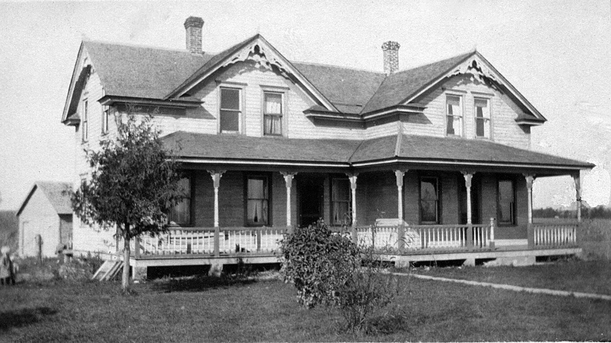The house in Cumberland, WI