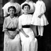 Cole Sisters: Top Flossie Naomi, Clara Bell, Francis,<br /> Bottom Row Burta (Roberta?) and Willie. One of my favorite pictures