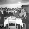 Cole/Johnson Gathering, Date early 50s (?)<br /> Front Row (left to right): Florence Johnson, Unknown, Willie (Cole) Morrill, Avid Cole, Marylyn Whalen Kirk, Unknown<br /> To the left and behind Aunt Willie, is Louella, Arvid Cole's wife.<br /> Directly behind Aunt Willie is Donald E. Johnson and Eveyln is to his left.