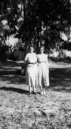 Florence Johnson and Eleanor Johnson Hauser