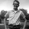 Michael McChesney, age 17, 29 inch waist, 135 pounds, the Levis cost $4.95 back in 1959.  The picture was taken in front of 915 link lane, Santa Rosa.