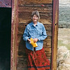 Carolyn Nelson at Bodie, CA this was taken on our trip to Bishop in May 2002.
