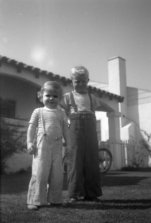 Marc Cole and Michael Manson McChesney ~1947 Los Angles CA