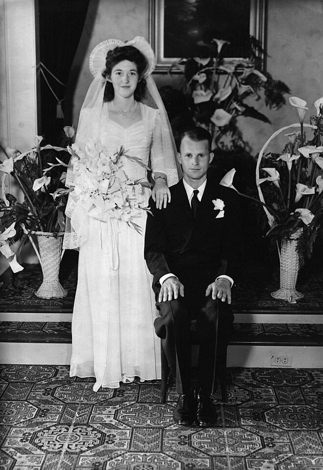 Wedding of Margeret McGraw and Wayne Neil Johnson