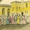 Ruth Johnson, School play in Redding CA. 8 years old 1923.<br /> She is the third from the left.