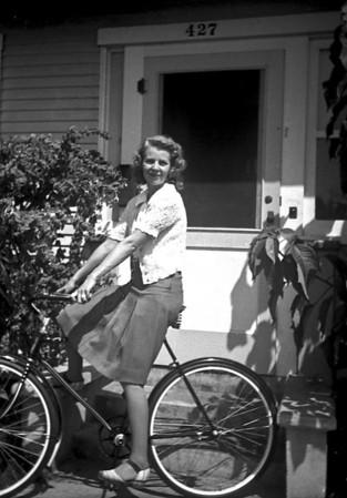 Lois Ruth McChesney, 427 Wolff Street Oxnard, CA  ~1942