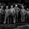 Arthur Johnson. third from the left.  He loved the railroad.