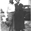 Wilma and Earle Morrill.  At this time, they were living on Scarcen Road in Santa Rosa.  I would walk from Grandma's house, through a walnut orchard and over to their place.