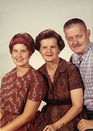 Linda Hauser Erb, Eleanor and Forrest (Babe) Hauser