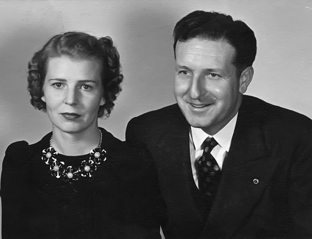 Homer Manson McChesney and Lois Ruth Johnson McChesney