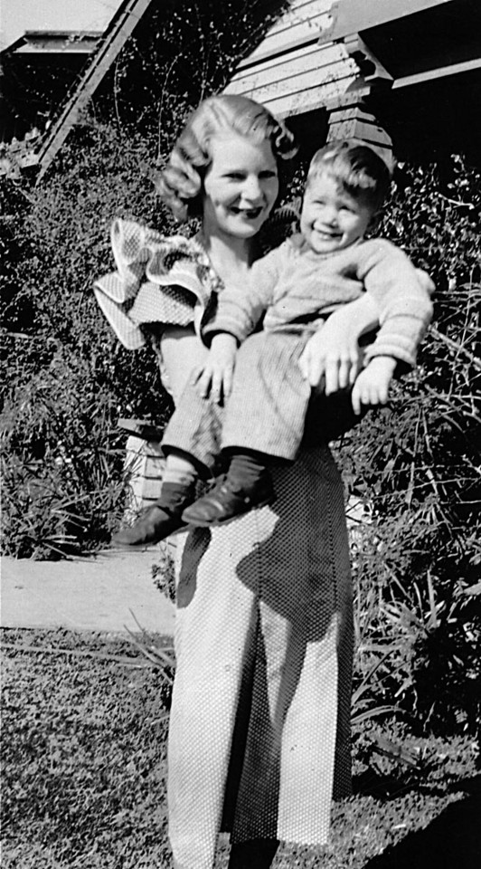 Ruth Johnson McChesney and David Hauser ~1936