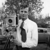 A man and his camera: Glen A. Johnson.  One of my favorite photographs