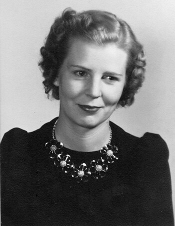 Ahhh, Finally, a little bit of a smile.  Ruth Johnson McChesney, age 24,  1939.
