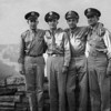 Donald E. Johnson with his Army Air Corps buddies at the Grand Canyon.  about 1943.  Second from the left.