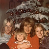 Martha Manson McChesney McDearmon with Paul and Brigette Oesterle and Peter Morgan McDearmon.  Taken December 1972