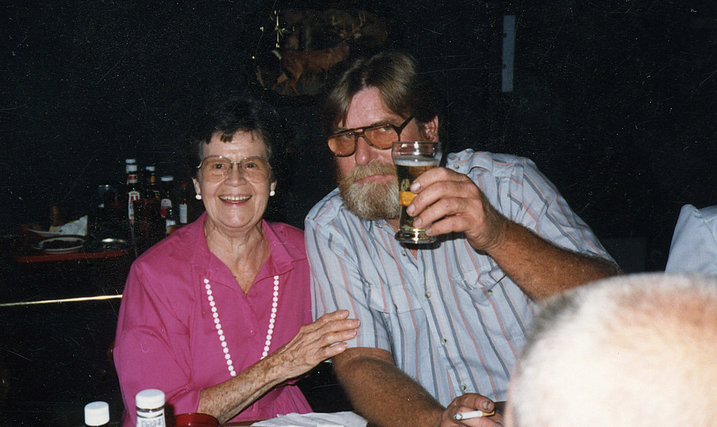 Eleanor Johnson Hauser and Marc Cole McChesney, fall 1988