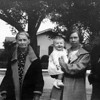 Mathilda Johnson, Martha McChesney, Alice Johnson and Mary Dora Cole 1936.  This photo was taken outside of 314 Miller Street in Santa Maria, CA.  Thank you Google street view.