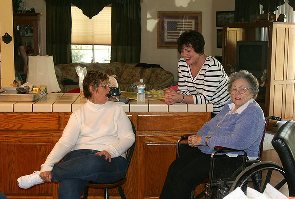 March 2008. Linda Hauser Erb, Susan Johnson Hegna and Ruthie Hacker Johnson