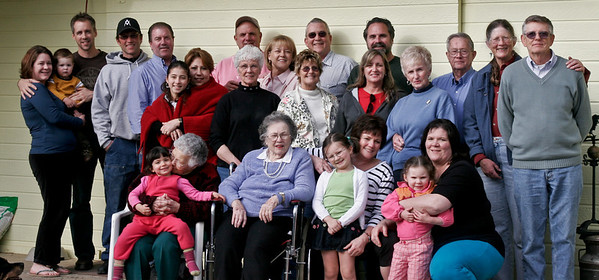 March 2008.  Can you find four generations of Johnsons?