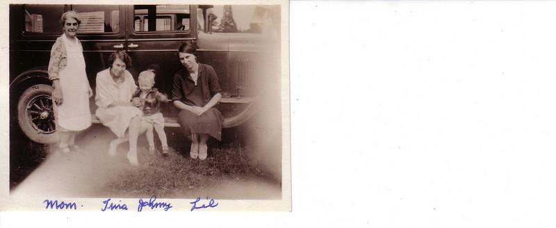 Mary Pye Johnston w/Tina Johnston, Johnny MacAulay and Lillian Lyttle