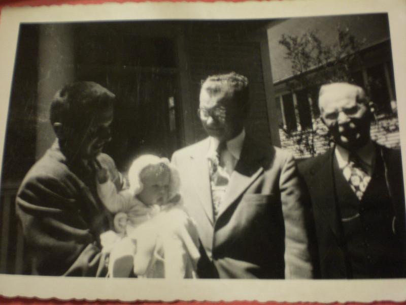 4 Generations:  Doug, Lynn, Bill, and Alex Johnston
