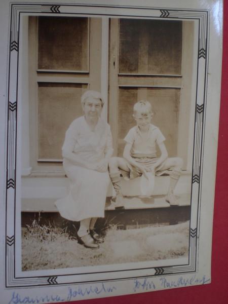 Grandma Johnston (Mary Pye) and John MacAulay