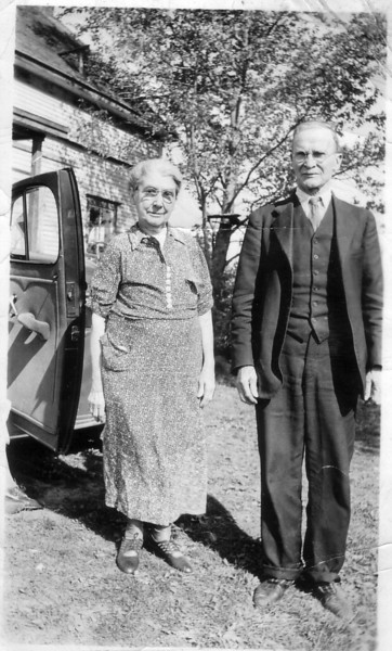 Bill Johnston's parents:  Mary Pye and Alexander Johnston