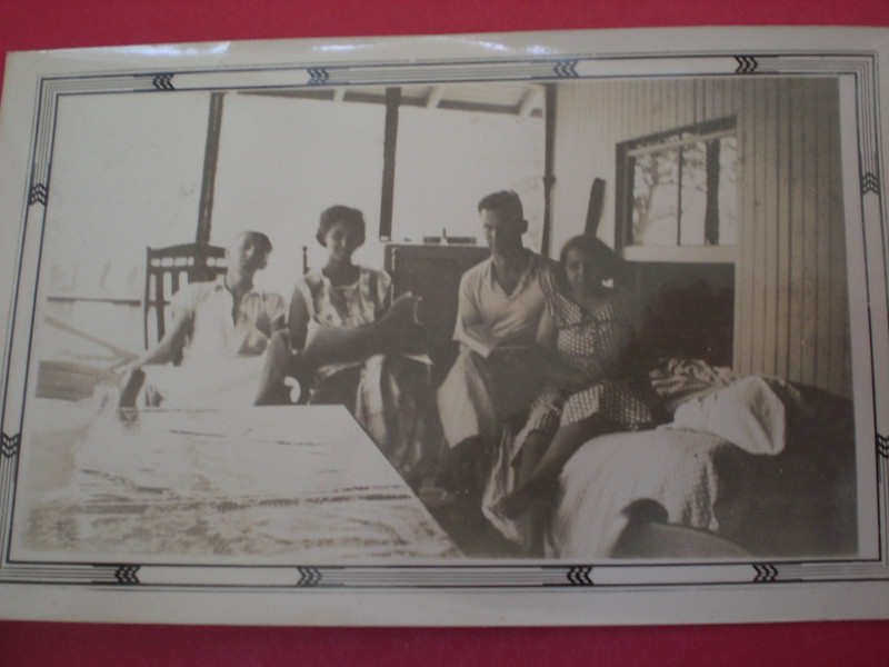 Bert & Dee Smith, Bill & Gladys Johnston 1936