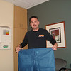 "The awesome ""one size fits all"" pants Mark got to wear into the operating room"